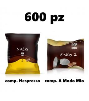 600pz Cremoso - Pop Caffè