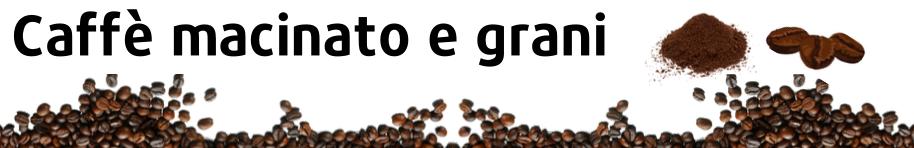 Caffè macinato e in grani - SOS Caffè
